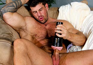 Zeb Atlas Fleshlight Jerking Action