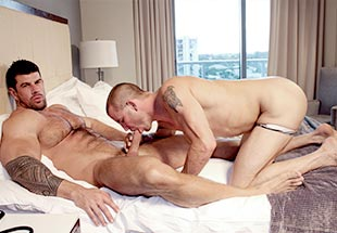 Zeb Atlas Gets Blowjob Service